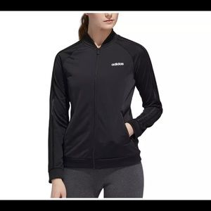 Adidas Black Full Zip Track Jacket Size M Medium
